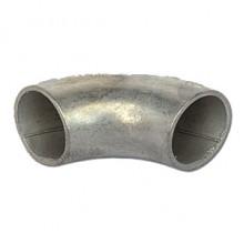 Отвод крутоизогнутый шовный оцинк. ДУ - 40
