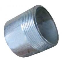 Резьба стальная п/приварку оцин. ДУ-15