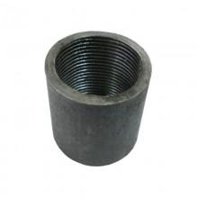 """Муфта под сварку Ду40 (1.1/2"""" в/в) стальная черная"""