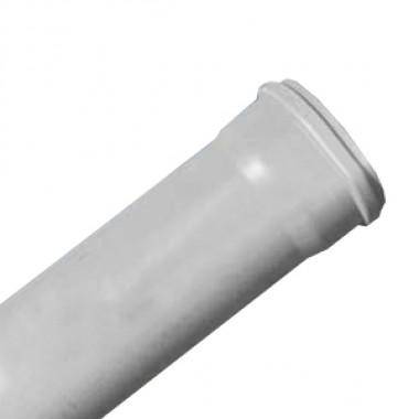 Труба ПП Дн 110х2,7х1000 с кольцом (Саратовпластика)
