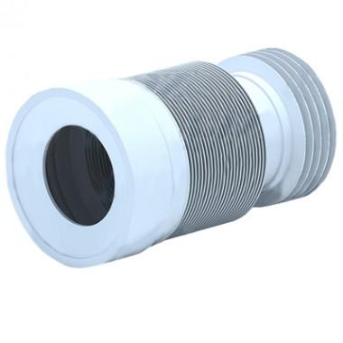 Отвод для унитаза гофрированный (K828)