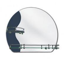 Зеркало 224 Л (500*600) с креп. (в0 н4 к2)