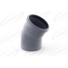 Отвод ПП Ду 110х15 гр. с кольцом