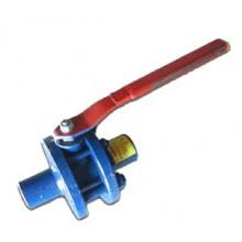 Кран шаровой стальной разборный 11с67п Ду 25 Ру16 под сварку полнопроходной