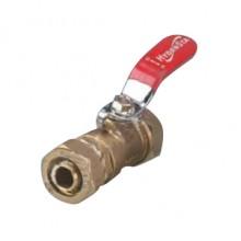 Кран шаровой под обжим труба-труба 20 (2,5) HYDROSTA