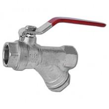 Кран шаровой ARCO SENA Ду 20 (30атм) с фильтром (RHF04)