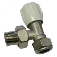 Вентиль радиаторный ARCO Ду 15 угловой (G7457) для медной трубы