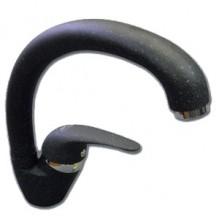 Смеситель GranFest (1024NEW) боковой D-40mm, цвет: Черный 308
