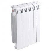 Радиатор биметаллический RIFAR Monolit 500- 6 секции (боковое подключение)
