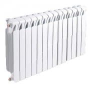 Радиатор биметаллический RIFAR Monolit 500- 14 секций (боковое подключение)