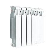 Радиатор биметаллический RIFAR Monolit 350- 6 секций (боковое подключение)