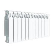 Радиатор биметаллический RIFAR Monolit 350- 12 секции (боковое подключение)