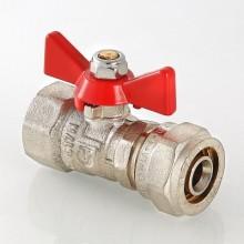Кран шаровой под обжим труба-гайка 16 (2,0) x 1/2 VALTEC (VT.342.N.1604)