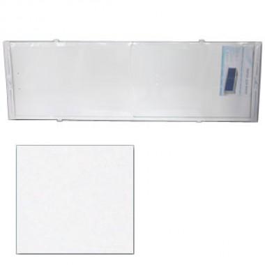 "Экран для ванн 1,5 м ""Оптима"" пластик белый"