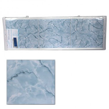 """Экран для ванн 1,5 м """"Оптима"""" пластик голубой мороз (39)"""