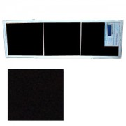 "Экран для ванн 1,5 м ""Оптима"" пластик черный (Р27)"
