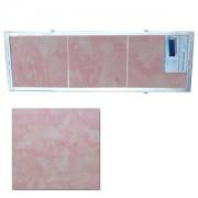 """Экран для ванн 1,5 м """"Оптима"""" пластик розовый мороз (37)"""