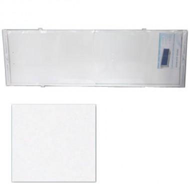 "Экран для ванн 1,7 м ""Оптима"" пластик белый"