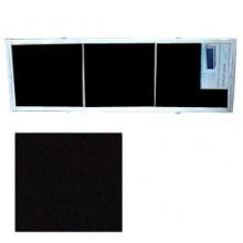 "Экран для ванн 1,7 м ""Оптима"" пластик черный (Р27)"