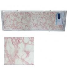 "Экран для ванн 1,7 м ""Оптима"" пластик св. розовый мрамор (20)"