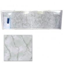 "Экран для ванн 1,5 м ""Оптима"" пластик зеленый мрамор (29)"