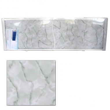 "Экран для ванн 1,7 м ""Оптима"" пластик зеленый мрамор (29)"