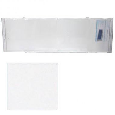 """Экран для ванн 1,5 м """"Премьер"""" алюминий белый"""