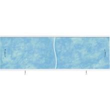 """Экран для ванн 1,7 м """"Премьер"""" алюминий синий мрамор (13)"""