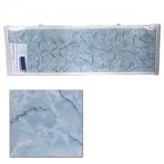 """Экран для ванн 1,7 м """"Оптима"""" пластик голубой мороз (39)"""