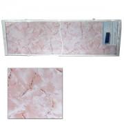 "Экран для ванн 1,5 м ""Оптима"" пластик розовый мрамор (27)"