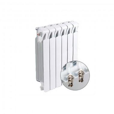 Радиатор биметаллический RIFAR Monolit MVR 500- 6 секции (подключение нижнее правое)