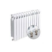 Радиатор биметаллический RIFAR Monolit MVR 500- 12 секции (подключение нижнее правое)