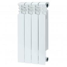 Радиатор биметаллический REMSAN BM-500/80 4 секции (боковое подключение)