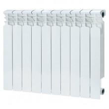 Радиатор биметаллический REMSAN BM-500/80 10 секций (боковое подключение)