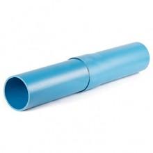 Труба обсадная для скважин ПВХ 125х5,0х3070 (синий цвет) с кольцами