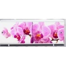 """Экран под ванну """"Ультралегкий"""" АРТ 1,7 м Дикая орхидея"""