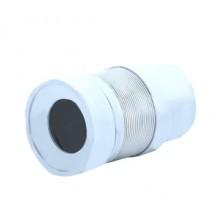 Отвод для унитаза гофрированный с выпуском (K821)