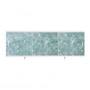 "Экран для ванн 1,7 м ""Оптима"" пластик темно-зеленый мрамор (8)"
