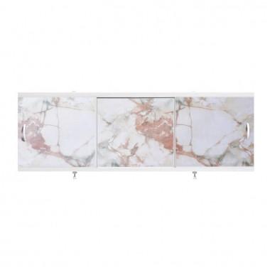 "Экран для ванн 1,7 м ""Оптима"" пластик кремово-зеленый мрамор (22)"