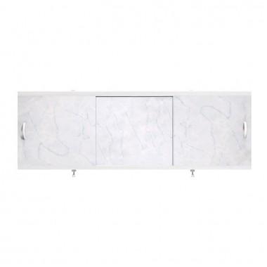 """Экран для ванн 1,5 м """"Оптима"""" пластик серый мрамор (28)"""