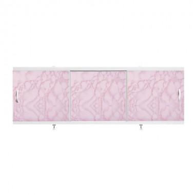 """Экран для ванн 1,5 м """"Оптима"""" пластик розовый закат (31)"""
