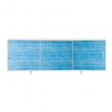 "Экран для ванн 1,5 м ""Оптима"" пластик голубая волна (32)"