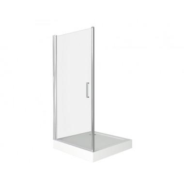 """Душ.огр. Дверь""""Пандора"""" DR (L) 100х185 (стекло-Прозрачное)"""