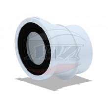 Отвод для унитаза 20 гр. (W0220)