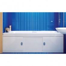 Экран под ванну 1,5 МДФ-Купе (Steel) белый
