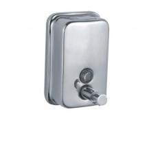 Диспенсер (TM802) для жидкого мыла хромированный 800 мл, настенный