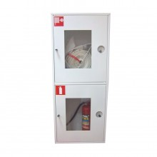 Шкаф пожарный ШПК-320Н3Б (навесной закрытый белый)