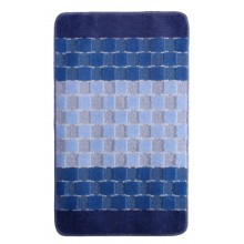 "Коврик для ванной ""BANYOLIN SILVER"" 60х100см (11 мм) голубой"