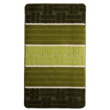 "Коврик для ванной ""BANYOLIN SILVER"" 60х100см (11 мм) зеленый"