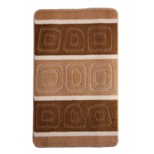 "Коврик для ванной ""BANYOLIN SILVER"" 60х100см (11 мм) коричневый"
